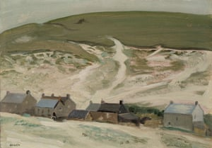 Cottages below the Downs, 1968
