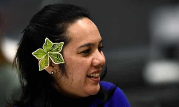 Enviada para el Clima de las Islas Marshall, Tina Stege