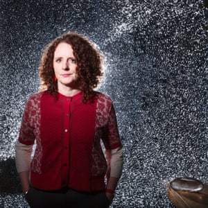 Maggie O'Farrell photographed at home in Edinburgh