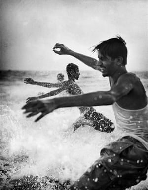 Martin Bogren: Ocean 08, 2006 Bogren's black-and-white photographs show the ocean as a source of energy and life. The water feels palpable.