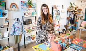 Hellen Stirling-Baker, owner of Small Stuff children's lifestyle shop has seen the business flourish since the easing of lockdown.