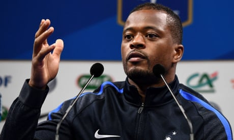 West Ham in talks with Patrice Evra over potential short-term deal