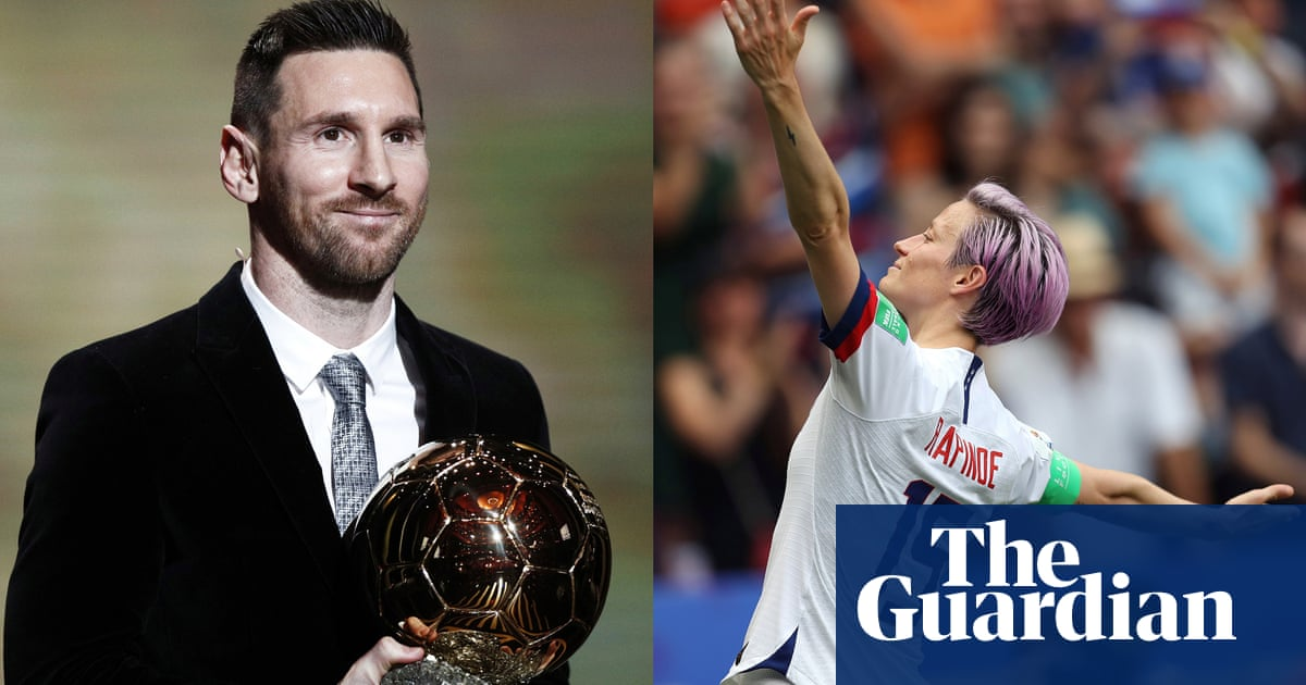 Ballon d'Or 2019: Lionel Messi and Megan Rapinoe win awards