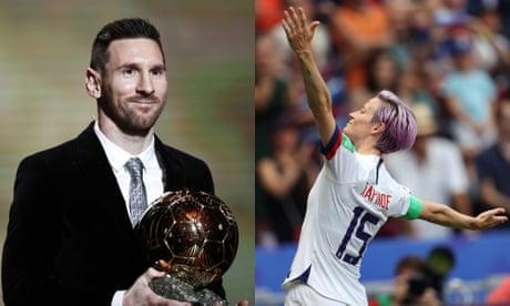 Ballon d'Or 2019: Lionel Messi and Megan Rapinoe win awards