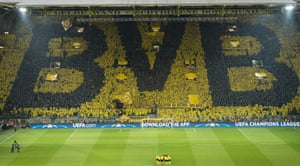 The ever spectacular Westfalenstadion.