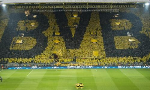 Borussia Dortmund S Yellow Wall Stands Tall In Face Of Attack On Team Football The Guardian
