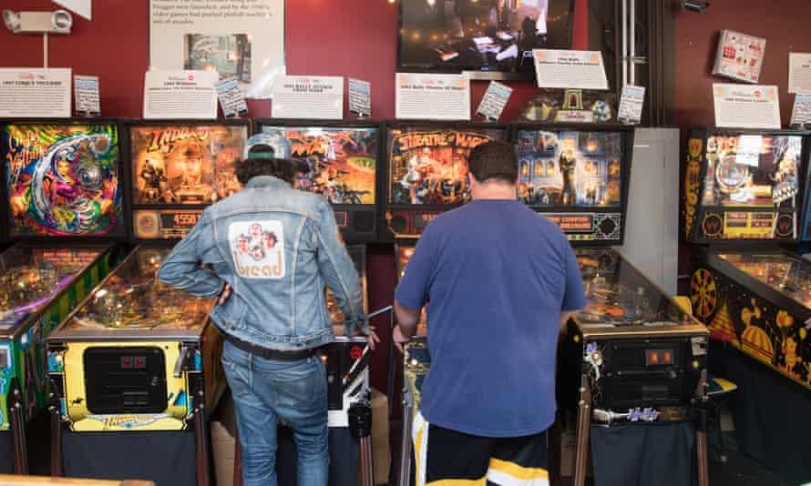 The pinball museum at Asbury Park.
