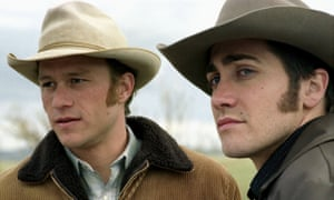 'In the love-making scene, I never told them what to do' … Brokeback Mountain.
