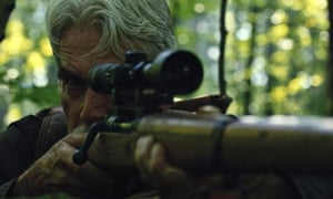 Off-target … Sam Elliott in The Man Who Killed Hitler and Then the Bigfoot.