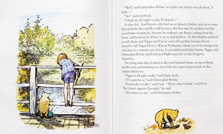 EH Shepard-illustrated version of Winnie the Pooh by AA Milne