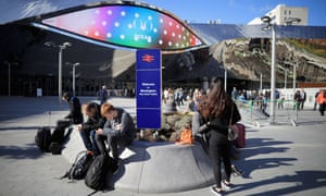 'Birmingham New Street is 'now nothing like its former unglory.'