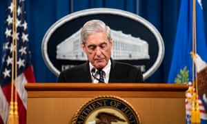 Former special counsel Robert Mueller addresses the media about the Russia investigation on 29 May 2019.