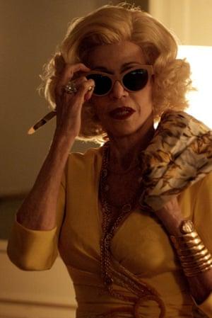 Terrific cameo … Jane Fonda.