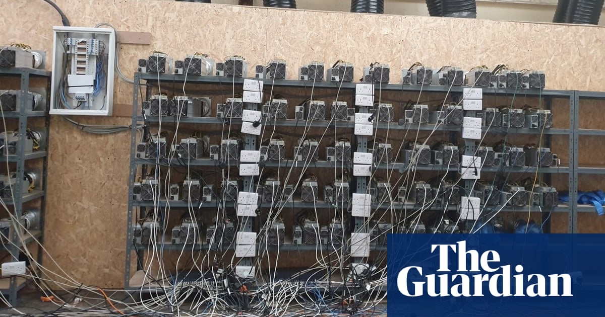 Police find bitcoin mine using stolen electricity in West Midlands