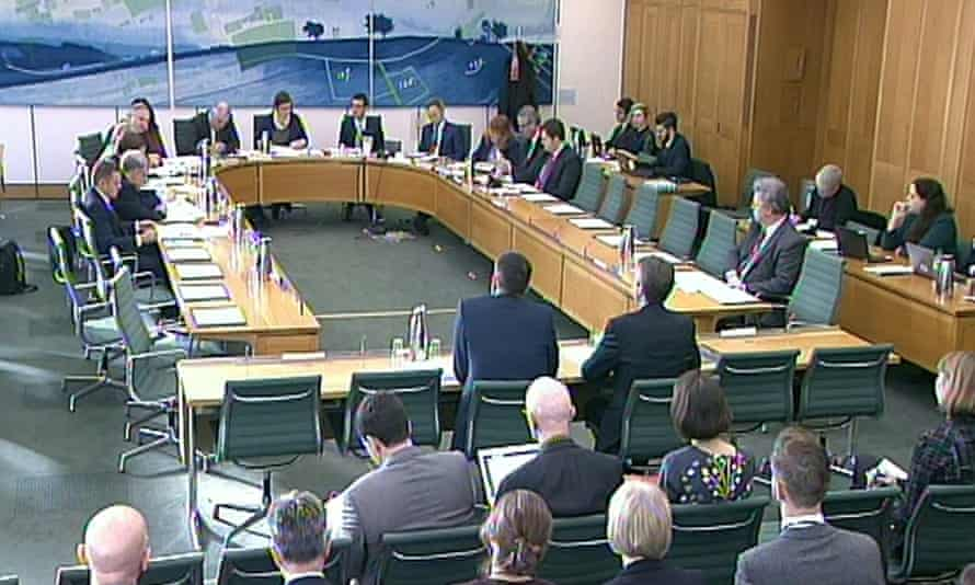Google executives gave evidence to the public accounts committee of the House of Commons on Thursday