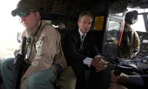 Tony Blair returns from Iraq's Green Zone