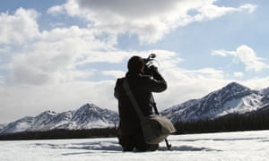 A scene in Alaska from the film, In Pursuit of Silence.
