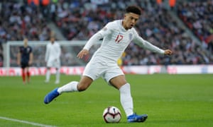 Jadon Sancho is rubbing shoulders with Harry Kane in the England senior side but his destination next summer should be Italy not Portugal.