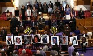 The nine victims killed in Charleston