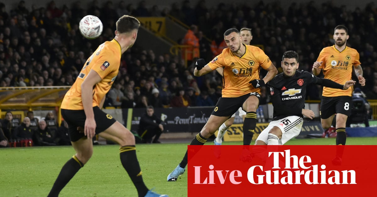 Wolves v Manchester United: FA Cup third round – live!