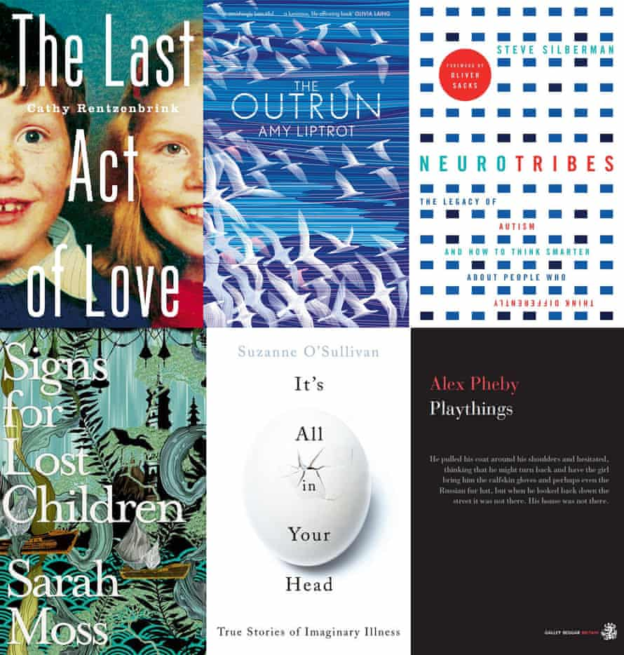 The shortlisted books.