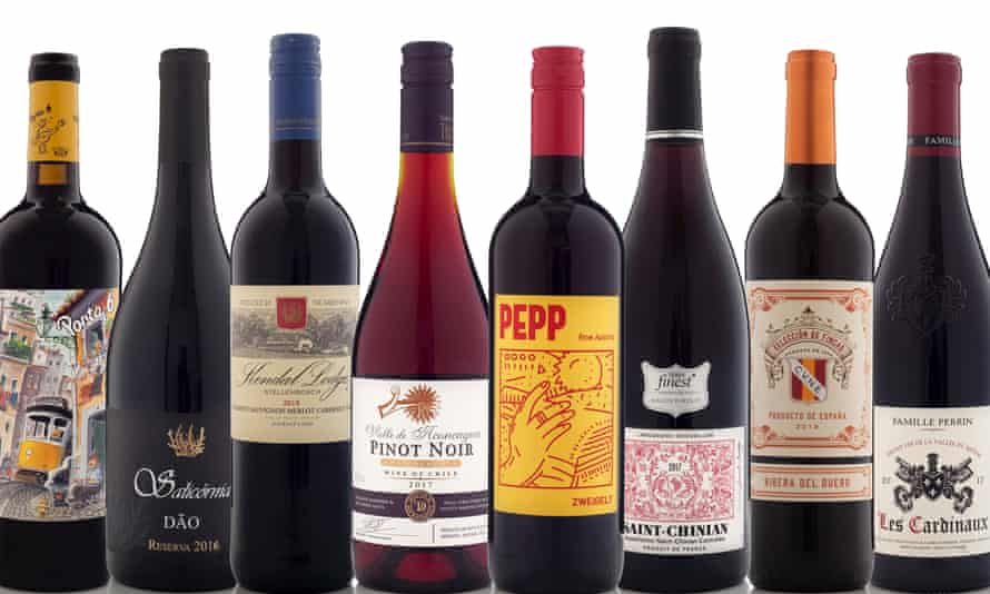 Red under £10 OFM Xmas wines 2019