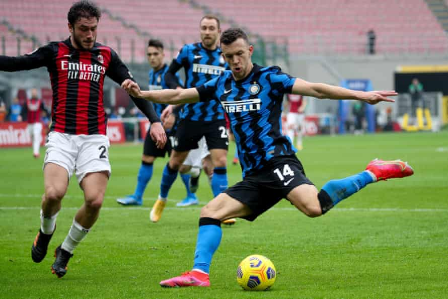 Inter's Ivan Perisic produced a superb performance, including the final ball for his side's second goal.