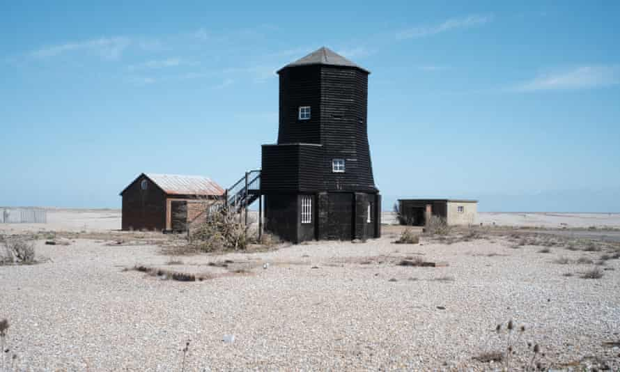As part of ArtAngel's Afterness exhibition, Black Beacon houses Library of Sound (2021), a decade of field recordings made by Iain Chambers, Chris Watson and Brian d'Souza on Orford Ness, Suffolk