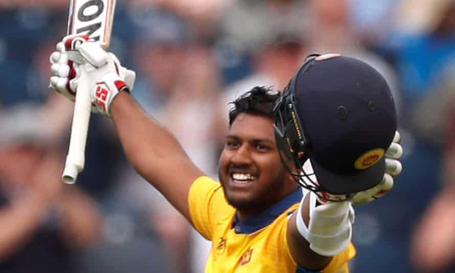 Sri Lanka's Avishka Fernando Photograph: Lee Smith/Action Images via Reuters