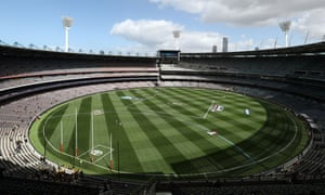 A general view prior to the 2017 AFL Grand Final match