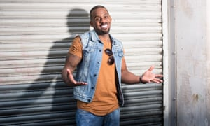 Richard Blackwood in London this month.