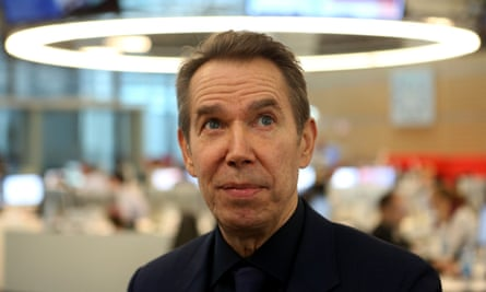 'I'm grateful for the opportunity that I have. I always wanted to participate. And I've never taken that responsibility lightly,' Jeff Koons says.