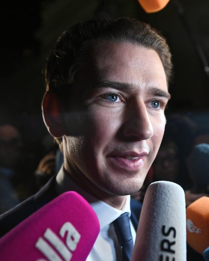 Sebastian Kurz, Austrian conservative millennial, world's youngest  anti-immigration leader.