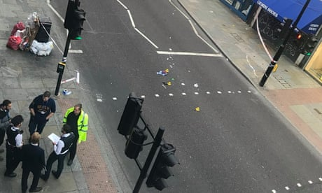 Woman dies after being hit by electric bike in London