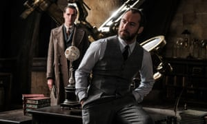 Wizard … Jude Law plays Albus Dumbledore in Fantastic Beasts: The Crimes of Grindelwald.