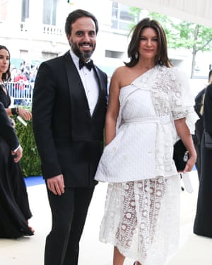 Farfetch's José Neves and Natalie Massenet, whom he lured from rival Net-a-Porter.