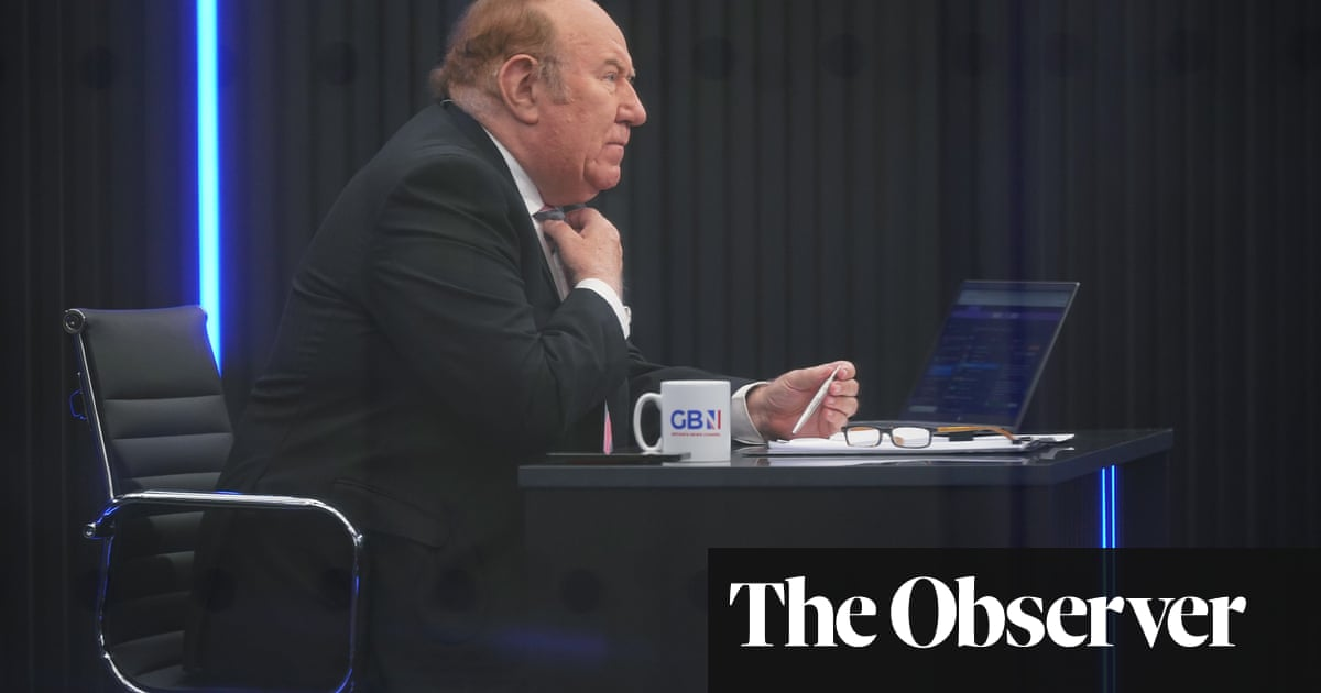 Tearful Andrew Neil's tales of woe about GB News leave his critics unmoved