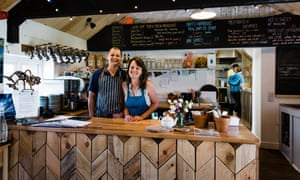 Charlie Langrick and Claire Pepperell have ambitious plans for the new Runwayskiln Cafe, Pembrokeshire, Wales