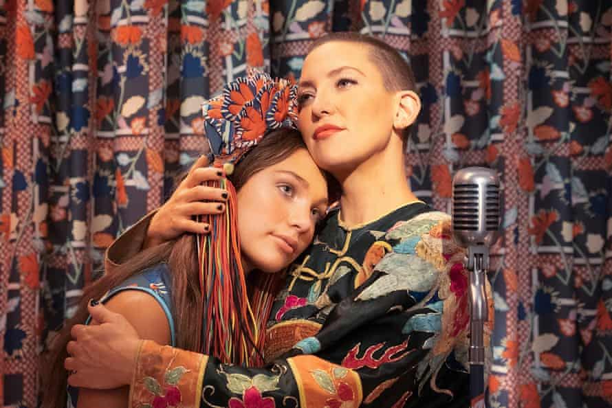 Maddie Ziegler and Kate Hudson in Music.