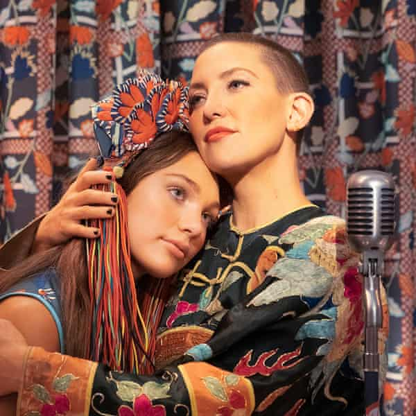 Maddie Ziegler and Kate Hudson in Music, a film by Sia