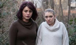 Lela Xhemajli (left) and Roni Moss.