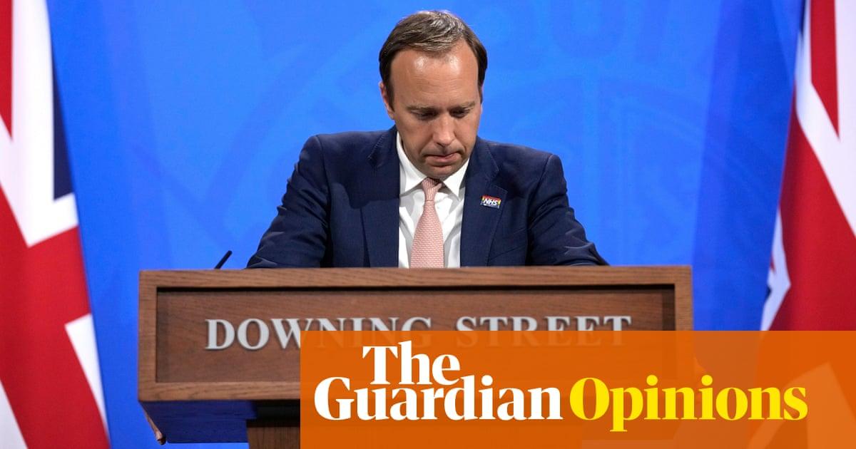 Matt Hancock has Boris Johnson's backing – for now