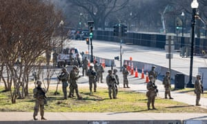 At least 20,000 National Guard troops will be deployed in Washington by the end of the week.