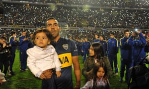 Carlos Tevez is given a hero's welcome on his return to Boca Juniors after a decade playing overseas.