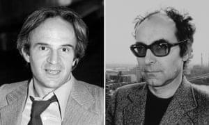 Francois Truffaut and Jean Luc Goddard