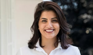Loujain al-Hathloul , who advocated an end to the ban on women driving in Saudi Arabia.