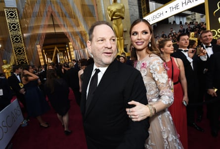 Harvey Weinstein and Georgina Chapman 88th Annual Academy Awards in 2016