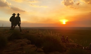 Sunset at Ubirr in Kakadu