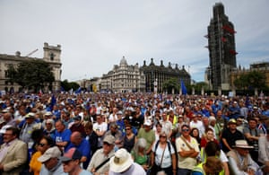 Anti-Brexit demonstration in Parliament Square