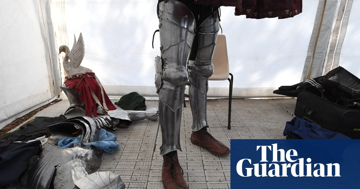 Jousters, vikings and eagles: the St Ives Medieval Faire – in pictures | Culture | The Guardian